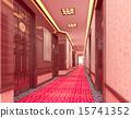 3d corridor. 15741352