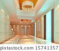 3d corridor. 15741357