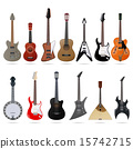 Guitars set 15742715