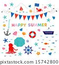 插圖 夏天 夏季圖像 15742800