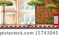自行车 脚踏车 公寓 15743045