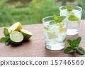 碳酸水 檸檬 黃檸檬 15746569