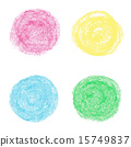 pastel, round, oil 15749837