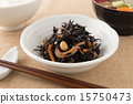 深色可食用海苔 熟的 黄豆 15750473
