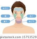男性面部脫毛部分 15753529
