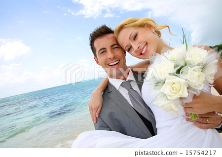 Stock Photo: couple, married, marriage