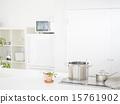 廚房 高興 明亮 15761902