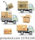 retro light truck 15763106