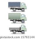 retro light truck 15763144
