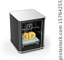 printer, 3d, three 15764255