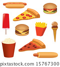 fast food set 15767300