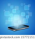 Smart phone with empty APP 15772151