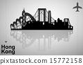 Hong Kong skyline 15772158