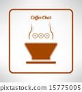 커피, 컵, 잔 15775095