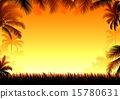 frame coconut palm 15780631