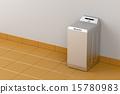 Silver washing machine 15780983