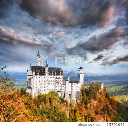 Neuschwanstein castle in Bavaria, Germany 15791035