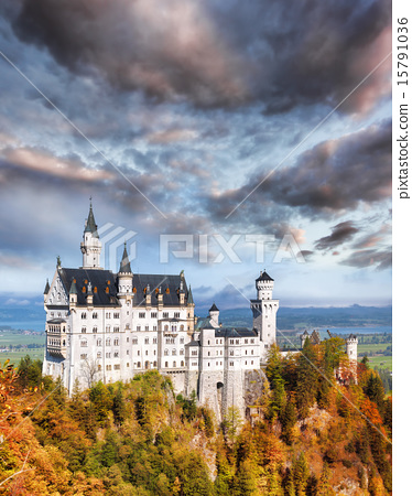Neuschwanstein castle in Bavaria, Germany 15791036
