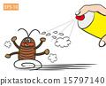 矢量 蟑螂 破坏 15797140