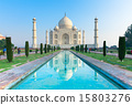 The morning view of Taj Mahal, India 15803276
