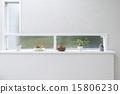 인테리어 작은 창 타일 15806230