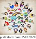 Hobby Immagination Fun Creativity Activity Inspiration Concept 15812028