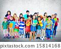 Multiethnic Children Smiling Happiness Friendship Concept 15814168
