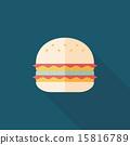 汉堡 矢量 矢量图 15816789