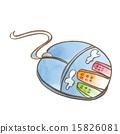 鼠標 老鼠 插圖 15826081