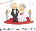 婚禮 年長 老年人 15826918