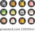 [ILL109] 12,oriental zodiac 020 15830041