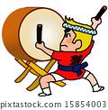 祭り太鼓男衆 15854003