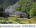 山口號 蒸汽機車 煙 15858942