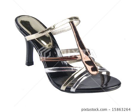 shoes, ladies shoes on background. 15863264