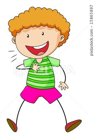 Boy laughing 15865897