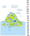 townscape vector vectors 15871144