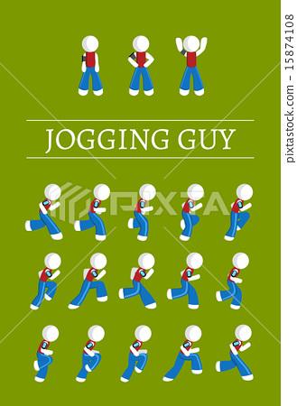 Jogging  Guy 15874108