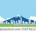 城市風光 城市景觀 市容 15874612