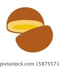 奶油面包 面包 割 15875571