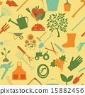 seamless, pattern, gardening 15882456