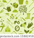 seamless, pattern, gardening 15882458