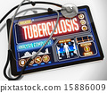 Tuberculosis on the Display of Medical Tablet. 15886009