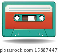 cassette, vintage, retro 15887447