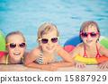 family, swim, pool 15887929