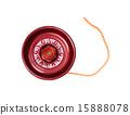 Playing red yo-yo 15888078