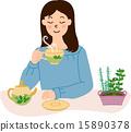 茶 飲料 喝 15890378
