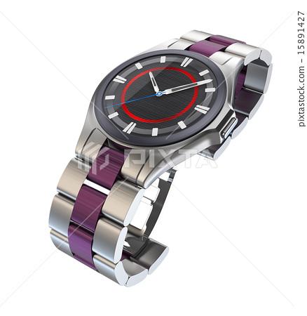 크로노 바람 스마트 시계 컨셉. 오리지널 디자인 15891427