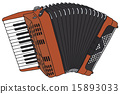 Red accordion 15893033