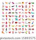 Animal icon set 15893575
