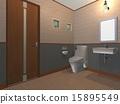 서양식, 화장실, CG 15895549